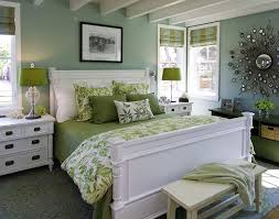 View In Gallery Jade And Green Come Together Breezy Beach Style Bedroom Design Viscusi Elson Interior