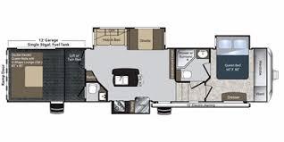 Raptor 5th Wheel Toy Hauler Floor Plans by 2013 Keystone Rv Raptor Fifth Wheel Series M 377 Se Specs And