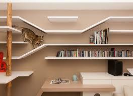 regale nach maß und design katzenbaum im wohnzimmer regal