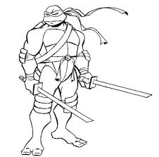 Teenage Mutant Ninja Turtles 2012 Printable Coloring Pages Nickelodeon Turtle Page Free Tu