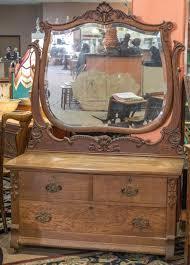 antique dresser with large round mirror vinofestdc com