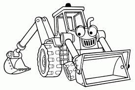 Coloriage Tracteur Imprimer Bondless