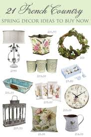 21 French Country Spring Decor Ideas