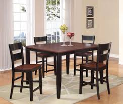 Black Pub Table | Madison County Pub Set Black Furniture Pub Set Counter
