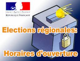 horaires bureaux de vote actualités elections régionales horaires d ouverture et de