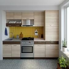 küche alina mit hochschrank 250 cm küchenzeile einbauküche