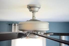 hunter 46 in louden low profile brushed nickel ceiling fan with