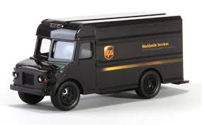 Toy Truck: Ups Freight Toy Truck