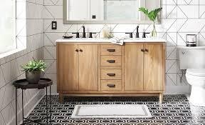 what is the best floor tile for a small bathroom