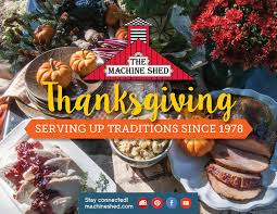 Machine Shed Des Moines Thanksgiving by Alejandra Salaverria