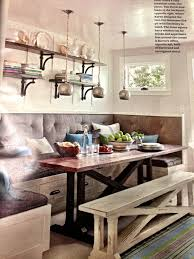 I Love The Bench For Extra Seating It Could Just Slide Under Table When Not Needed