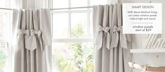 Peach Curtains For Nursery by Kids U0026 Nursery Rugs And Curtains Pottery Barn Kids