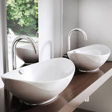 aufsatzwaschbecken waschbecken oval waschtisch waschschale
