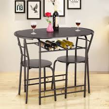 US $84.99 |Giantex 3 PCS Dining Set Table And 2 Chairs Home Kitchen  Breakfast Bistro Pub Furniture Modern Dining Room Furniture HW57334BK On ... Fniture Extraordinary Pub Style Ding Room Sets Bar Stool Wooden Plans Height Table Small Set Rooms Amusing Sizes Diy Handcrafted In North America Kitchen And Ding Room Canadel Buy Fniturer Chairs Of 3 Round The Kavara Counterheight Wdouble Barstool Details About Piece Stools Counter Bistro Inspiring Ideas For Pull Out And White Porter Brown Ashley Off Rustic Cheap 2 Find Deals On