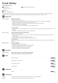 Electrician Resume: Sample & Complete Guide [20+ Examples] Guide Electrician Resume Samples 12 Examples Pdf Unbelievable Sample Canada Electrical Apprentice Best Of Journeymen Electricians Example Livecareer 10 Apprentice Electrician Resume Examples Cover Letter The Samples Menu Or Click Here To Order Your New New Templates Visualcv Industrial And For 2019 Licensed Velvet Jobs
