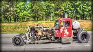100 Rat Rod Semi Truck Wharf White Knuckle Rolling CB Interview YouTube