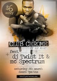 ClubChrome Hip Hop Flyer Template