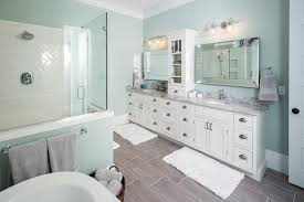 Tall White Shaker Style Bathroom Cabinet Freestanding by Luxury South Carolina Home Features Inset Shaker Cabinets