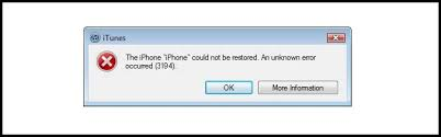 How to Fix iTunes Error 3194 While Restoring or Updating iOS