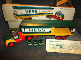 1976 Hess Truck In Original Box | Hess Trucks By The Year Guide ... Hess Toy Trucks Mini Toys Buy 3 Get 1 Free Sale 1964 Hess Tanker Truck All Original Great Cdition 1849392991 Rays 2012 Vintage Marx Toy Tanker Mack Tank Truck Trailer W Box Tanker Truck 1725000816 For Sale In Nj 1969 Amerada Original Near Mint Hess With Funnel And Box Aj Colctibles More Pulls Wraps Off 50th Anniversary Holiday Toy Wfmz Tank Hong Kong 63500 Pclick 1st Wind Up Metal Car Nmib Works Best Example I