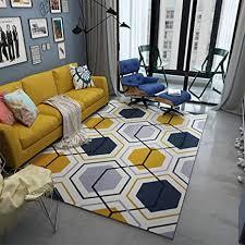 de qydf hexagonal geometrie grau gelb weiß schwarz
