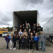 100 Penske Semi Truck Rental NHS Loading Lutheran Westland