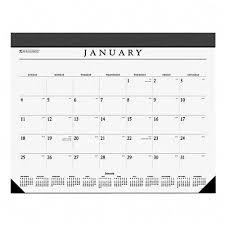 at a glance executive desk blotter monthly calendar refill