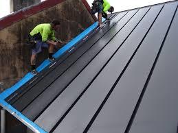australia s solar steel roof goes on show in sydney