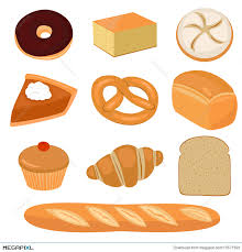 Bread and pastry clip art