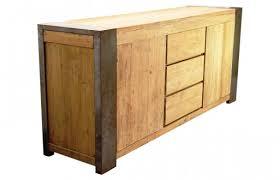 sideboard in hellbraun aus teakholz industrial sofie
