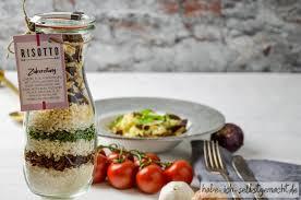 risotto im glas als geschenk