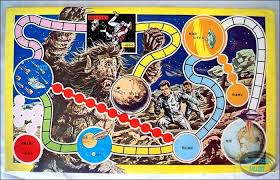 Lost In Space Travel Board Game