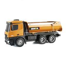 100 Kidds Trucks Huina 114 RC Truck 10 CH Remote Dump Truck Toy Kids Gift Radio