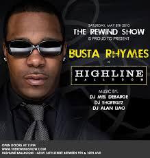 Busta Rhymes Halloween by Ra Busta Rhymes At Highline Ballroom New York 2010