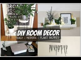 diy room decor ideas 2017 tumblr plant inspired room decor