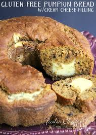 Libbys Pumpkin Bread Recipe by Gluten Free Pumpkin Bread W Cream Cheese Filling Foodie Rule