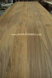 assemblage plan de travail cuisine plan de travail panneau bois massif sur mesure en teck ou wengé