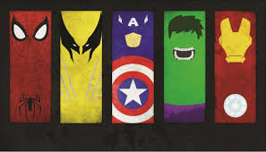 three color superhero wall decals comic book sound effects word