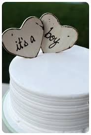 Cake Toppers Baby Shower Boy Custom For Rustic Woodland Barn Country Shabby Chic Southern Natural Its