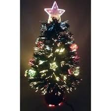 Small Fibre Optic Christmas Trees Sale by Small Fibre Optic Christmas Tree 2ft Star Top Baubles Xmas