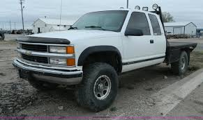 100 1998 Chevy Truck For Sale Chevrolet 1500 Ext Cab Flatbed Pickup Truck Item BT9