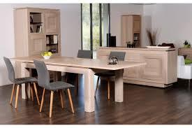 table de salle à manger en bois massif français hellin
