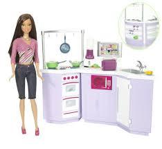Barbie Teresa Doll Kitchen Furniture Set Sale Dolls House
