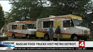 NASCAR Food Trucks Visit Metro Detroit Mobile Ding In The Motor City From Indie Fad To New Industry Marconis Pizza Detroit Food Trucks Roaming Hunger The Pita Post Detroit Fleat 25 Food Trucks That You Must Try This Summer Chickadee Cheesteaks With Fleat Ferndale Gets A Permanent Truck Park Cporate Event Catering With Hero Or Villain Truck Monkey Business Magnificent Map The Guide 14 Fantastic Restaurants On Wheels Nu Deli About 75 Kitchen