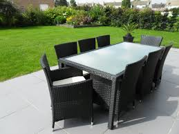 tables de jardin en resine table jardin resine tressee table metal jardin maisonjoffrois