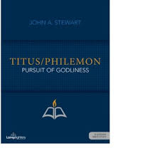 Titus Philemon Pursuit Of Godliness