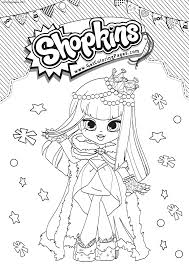Shopkins Shoppies Coloring Pages Gemma Stone 687 Free