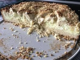 apfel quark creme kuchen