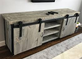 Hand Crafted Rustic Industrial Barn Board Media Stand W/ Sliding ... Buy A Custom Made Sliding Barn Door Eertainment Center Made To Hgtv Featured Saloon Style Baby Hand Desk Shelves And By Perfect Design Replace Your Average Doors With These Custom Barn Btcainfo Examples Doors Designs Ideas Reclaimed Wood Heirloom Llc Modern With Red Resin Inlay Twochair Interior Video Photos Home Crafted Closet Hdware Pictures Outside