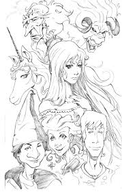 The Last Unicorn Coloring Pages Lovely With Mandala And